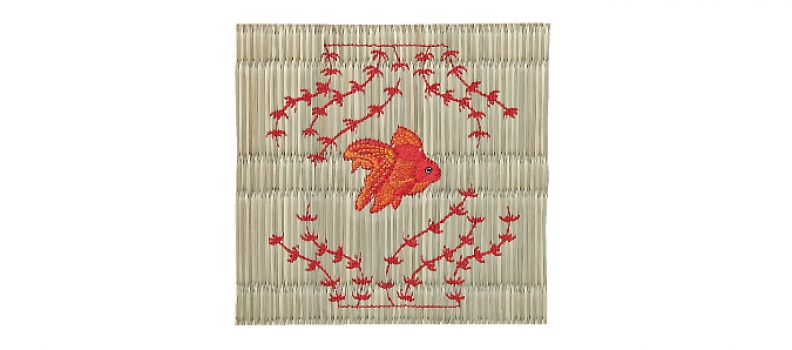 """We can now embroider on """"Igusa"""" (rush grass)"""
